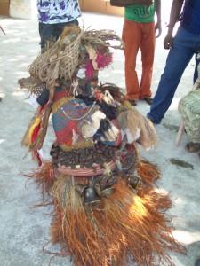 Masquerade in Inyi, Enugu, Nigeria, ca. 2011